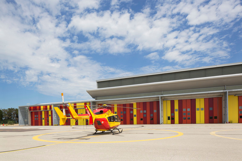 Newsroom - Press release - Extension of the helicopter group of civil security - Nimes Garons