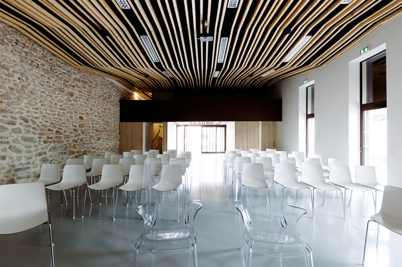 Press kit - Press release - Jacou wedding room - NBJ architectes