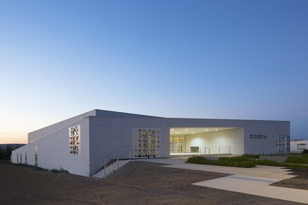 Newsroom - Press release - Sports Hall of the Jean-Louis Trintignant Middle School in Uzès - France - NBJ architectes
