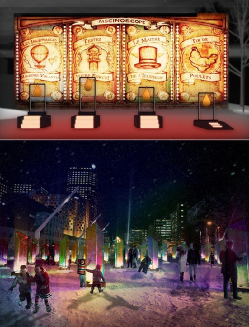 Dossier de presse - Communiqué de presse - Luminothérapie Competition: And the winners for 2014-2015 are... - Bureau du design - Ville de Montréal