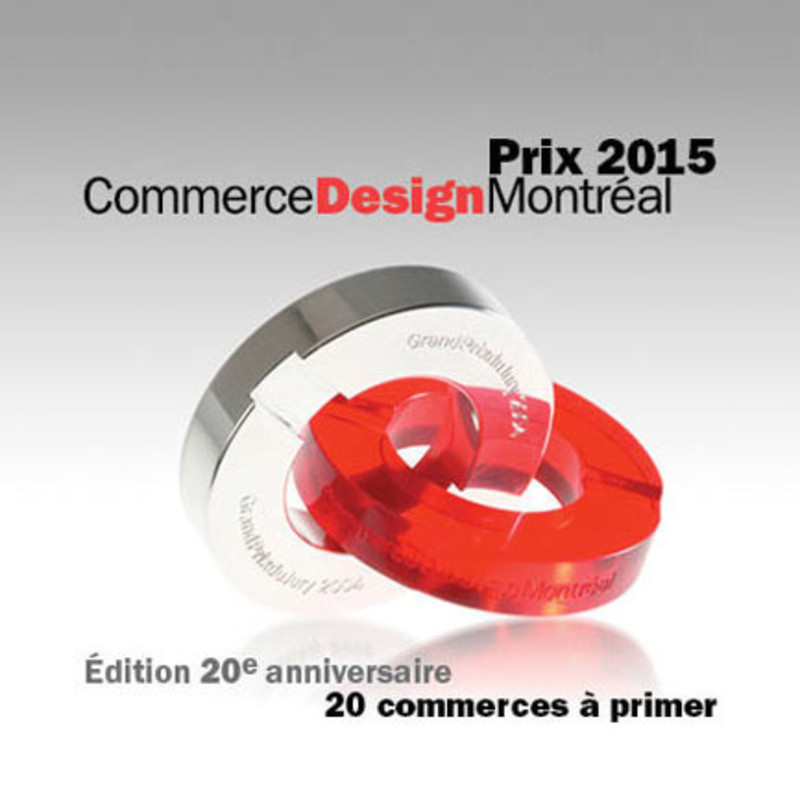 Press kit - Press release - The Commerce Design Montréal Awards return! - Bureau du design - Ville de Montréal