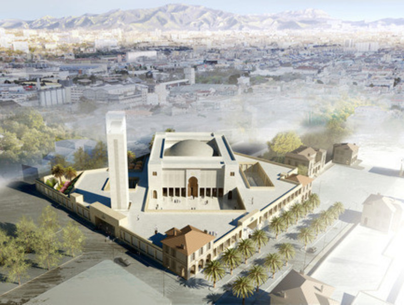 Newsroom - Press release - The Marseille Grand Mosque - Bureau Architecture Méditerranée